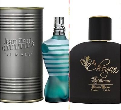 Chogan profumo uomo 100 ml essenza 30% ispirato a le male jean paul gaultier cod. art.: 016