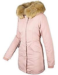 Winterjacke mit fell amazon