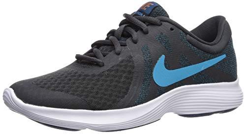 Nike Jungen Boys Revolution 4 (gs) Running Shoe Traillaufschuhe, Schwarz (Off Noir/Lt Current Blue Force 16), 36 EU (Boys Blue Nikes)