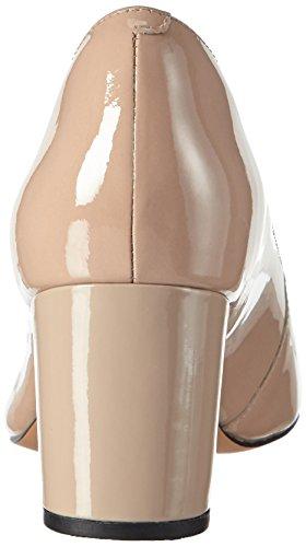 Clarks Pravana Rose, Escarpins Femme Beige (Sand Patent)