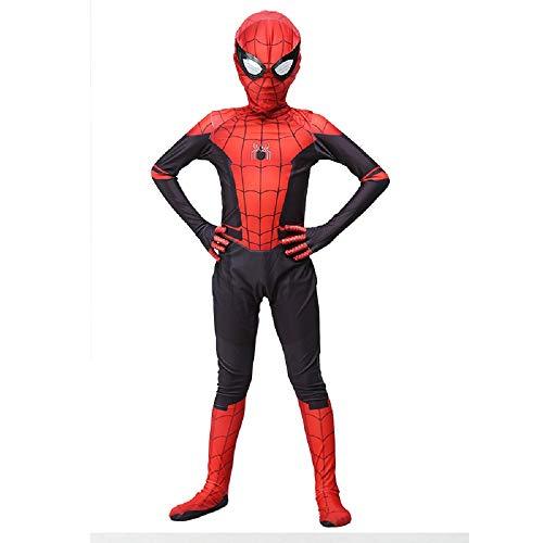 Diudiul Kids Venom Symbiotisch Spiderman Kostüme für Kinder Action Dress Ups und Zubehör Party Cosplay Kostüm (Far from Home, XXL(150-160cm))