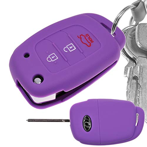 Key Soft Case Cover Funda Protectora Silicona Hyundai