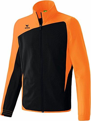 Erima Kinder Anzug Club 1900 Jacke, Schwarz/Neon Orange, XS Preisvergleich