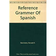 Reference Grammer Of Spanish