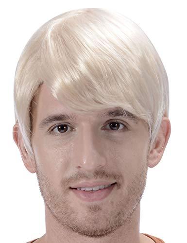 Generique - Blonde Kurzhaar-Perücke für Männer