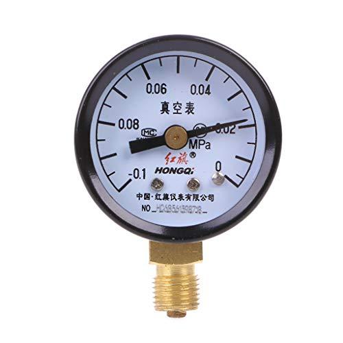 ZChun YZ-40-0,1-0MPa Analoges Unterdruckmessgerät Luftdruckmessgerät Universal-Messgerät