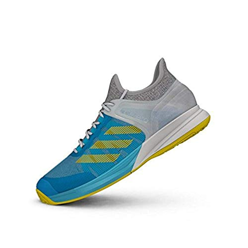 Zapatillas adidas Indoor Adizero Ubersonic 2 OC Tenis construcción Ligera