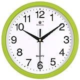 DW HCKK M&T Objekte der Dekoration Wanduhr elektronische/Lounge Moderne Clock Kalender/Mute rund um die Uhr - F9