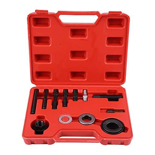 Outbit Riemenscheiben-Abzieher - 1 Satz von 13 PC Auto-Servolenkungs-Generator-Riemenscheiben-Abzieher, Entferner, der Installer-Werkzeug zerlegt.