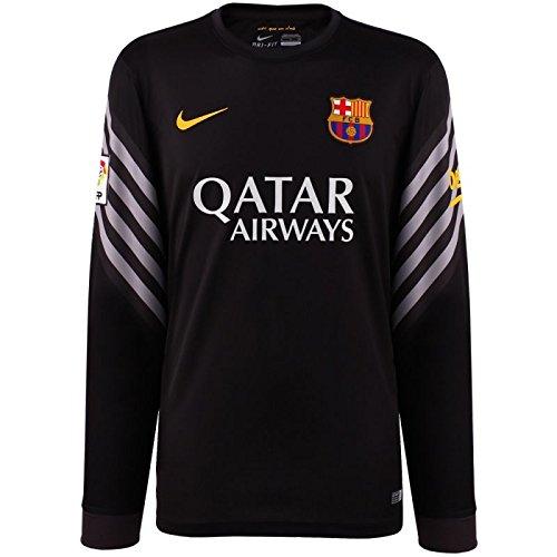 2015-2016 Barcelona Home Nike Goalkeeper Shirt (Black)