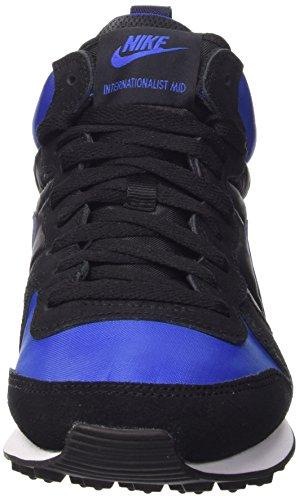 Nike Internationalist Mid, Chaussures de Sport Homme Bleu (Varsity Royal/Varsity Royal-Black-White)