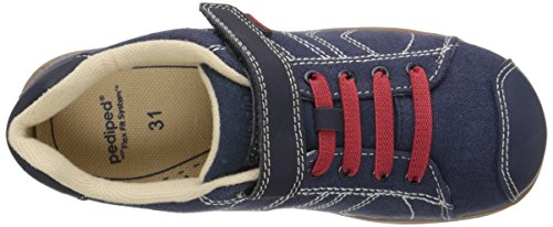 Pediped Jake, Chaussons Sneaker Garçon Blau (Navy Red)