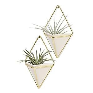 lot de 2 supports de plante d 39 int rieur lanmu support. Black Bedroom Furniture Sets. Home Design Ideas