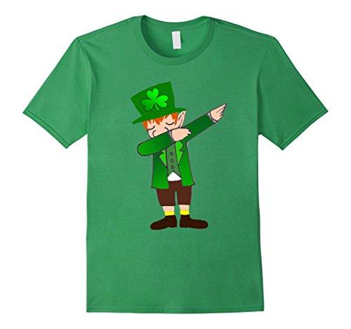 Dabbing For St.Patrick's Day Funny Leprechaun Gift T-Shirt Herren, Größe S (T Shirts Patricks St)