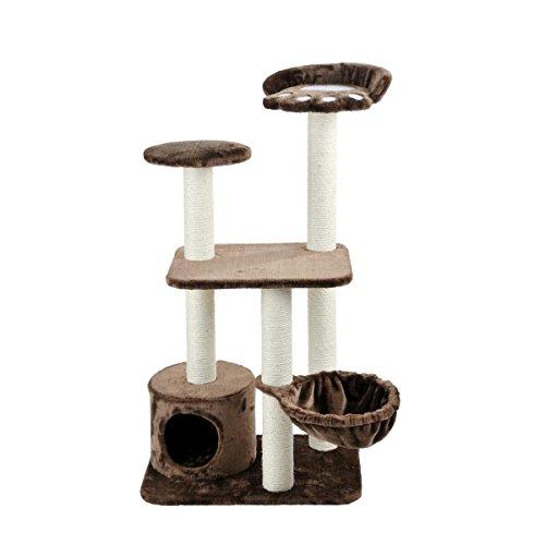 Silvio Design Katzen-Kletterbaum Molly braun, ca. 60x40x116 cm (Molly-design)
