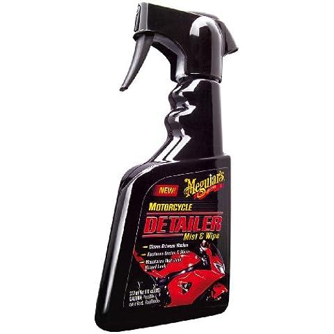 Meguiars Detailer Mist & Wipe - Detergente per moto, 236