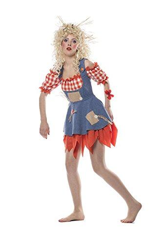 Kostüm Damen und Herren Paarkostüm Fasching Karneval Halloween (Vogelscheuche Damen, 42) ()