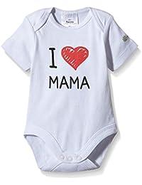 Twins Body con impresión I Love Mama para Bebé, Unisex