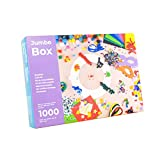 PepMelon - Jumbo Box Bastelset,1036 teilig, + Bastelanleitung mit kreative Ideen zu basteln mit Kinder. Bastelbox, die ideales Geschenk zum Kindergeburtstag für Mädchen und Jungen