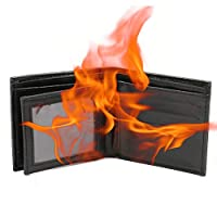 Creamon Magical Trick Flame Fire Wallet,K2 Novelty Magical Trick Flame Fire Wallet Big Flame Magician Trick Wallet Stage Street Show Wallet
