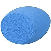Spugna Trucco, piumini e spugnette, Culater 1pz A forma di uovo trucco soft bellezza soffio della spugna, Blu
