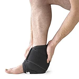 Ankle Cold Compression Cuff - Cryo Therapy Injury Ice Pack Rehabilitation Swelling