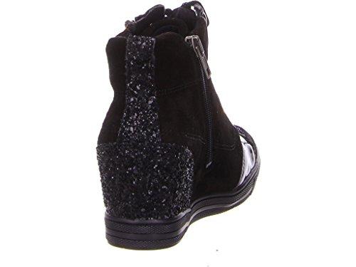 Tamaris Sneaker alta nero 1-25258-27 098 nero pettine Pettine nero