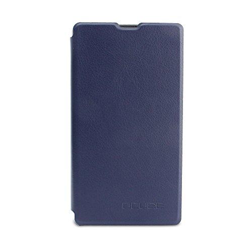 Handyhülle für Bluboo S1 95street Schutzhülle Book Case für Bluboo S1, Hülle Klapphülle Tasche im Retro Design mit Praktischer Aufstellfunktion - Etui Blau