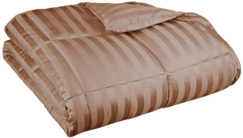 wide-stripes-down-alternative-microfiber-100-oz-fill-weight-comforter-king-taupe