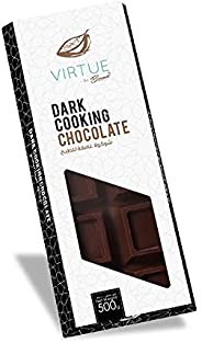 Benoit Dark Compound Chocolate Block / Bar 500g, Bakery Ingredients for Chocolates, Smoothies, Ice Creams, Coo