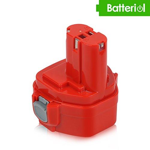 Batteriol 12V 3.0Ah NI-MH Akku für Makita 1233 1234 1235 1235B 1235F 192696-2 192698-8 192698-A 193138-9 193157-5 Ersatzakku Werkzeug Batterie