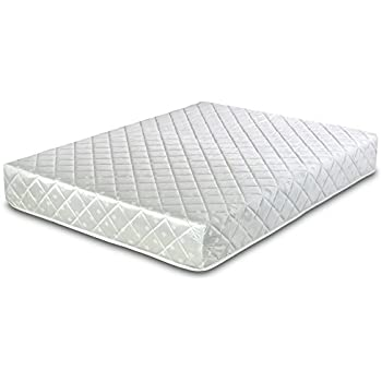 visco therapy deluxe memory foam coil spring rolled mattress double - Mattress