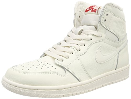 Hombre rojo Air Og De 1 Jordan Universidad Altas Retro Nike Zapatillas Deporte Blanco wxPzqfqO