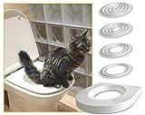Servicat Trainingskit für Katzen. Bring deiner Katze in 5 kleinen Schritten bei, die Toilette zu benutzen.