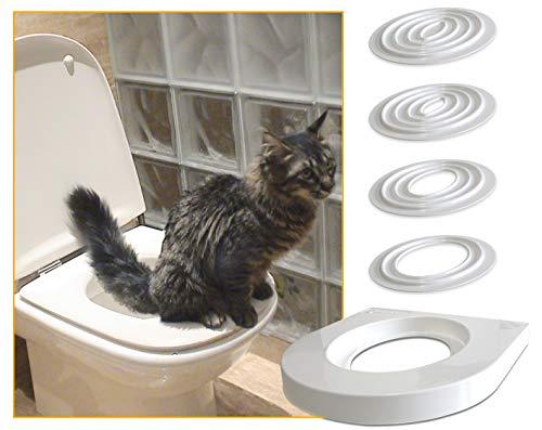 Servicat es un kit de adiestramiento para entrenar a nuestro gato para utilizar el inodoro en lugar de la caja de arena. Este accesorio conlleva una serie de pequeños pasos que permiten a nuestro gato cambiar su comportamiento a su propio ritmo. Colo...