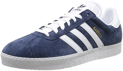 adidas Originals Gazelle Ii, Baskets mode homme - Marine (Marine/blanc), 43 1/3 EU