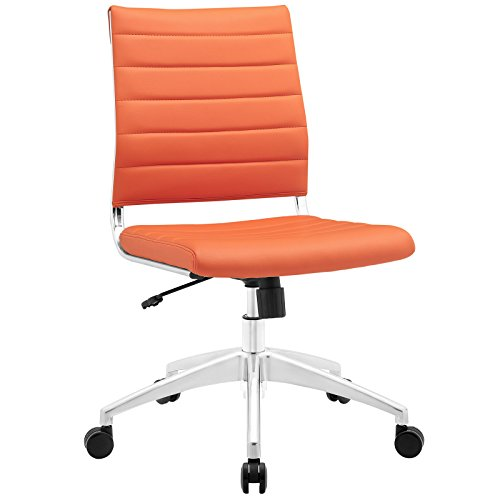 Modway lexmod Jive Gerippter High Back Chefsessel Ohne Arm Orange
