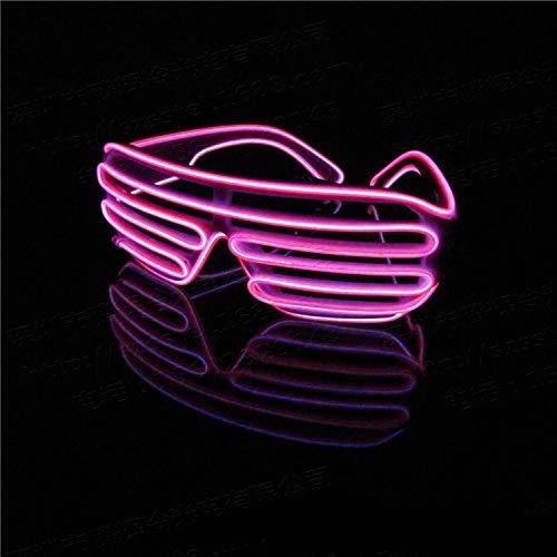 Neon El Draht LED Leuchten Shutter Mode Lustige -