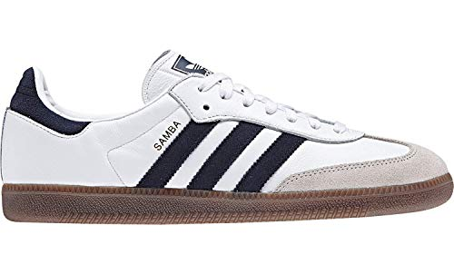adidas Herren Samba Og Derbys, Mehrfarbig (White Ftwwht/Conavy/Crywht), 44 EU