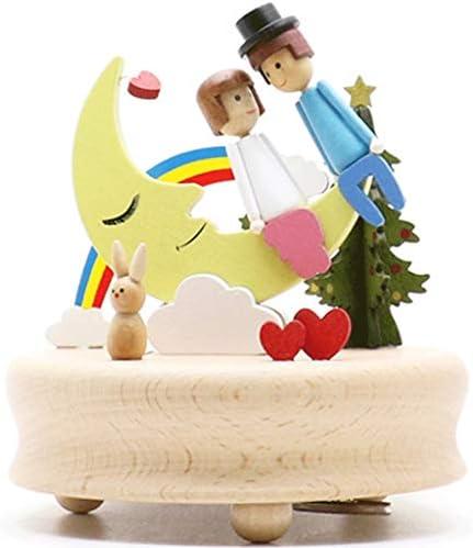 Boîte à Musique Boîte à Musique en Bois carrousel carrousel carrousel Boîte à Musique Cadeaux de Noël | Moderne Et élégant à La Mode  0b6941