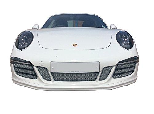 Zunsport Compatible avec Porsche 991.1 GTS - Ensemble calandre intégral (sans capteurs de stationnement) - Finition Argent (2015-2016)
