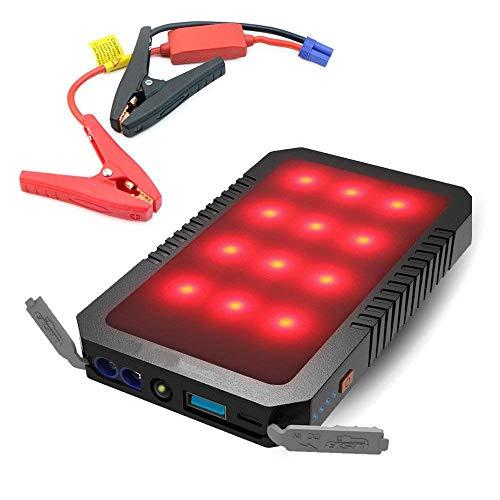Tragbare Kfz-Starter-Stromversorgung (Bis Zu 3L-Dieselmotor) 400A Peak-Car-Akku-Pack Boost-Ladegerät Für 12V-Autos, Motorräder, Verschiedene Modelle Von Mobiltelefonen, SOS-Signalleuchten