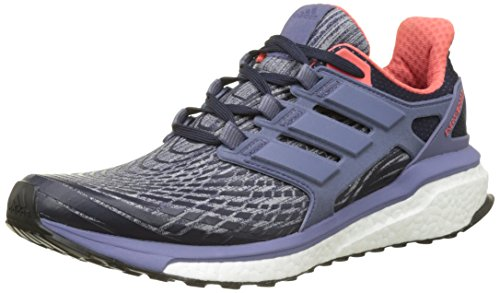 Adidas Boot Damen (adidas Damen Energy Boost Laufschuhe, Blau (Legend Ink F17/Super Purple S16/Easy Coral S17), 40 EU)