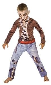 Zombie Boy Fancy Dress Costume (child size) - 128cm (disfraz)