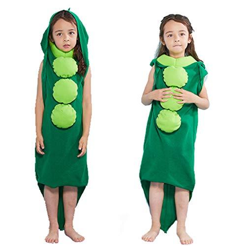 AmyGline Halloween Kostüm Kinder PEA Jumpsuit Overall Lustige Bühnen Show Festival Party Kostüm Cosplay (Disney Pixie Kind Kostüm)