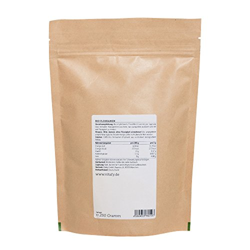 Vitafy Essentials Bio Flohsamen (250g)
