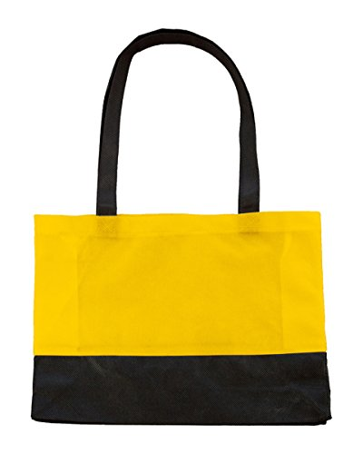 Bags By Jassz, Borsa a spalla donna Yellow/Black