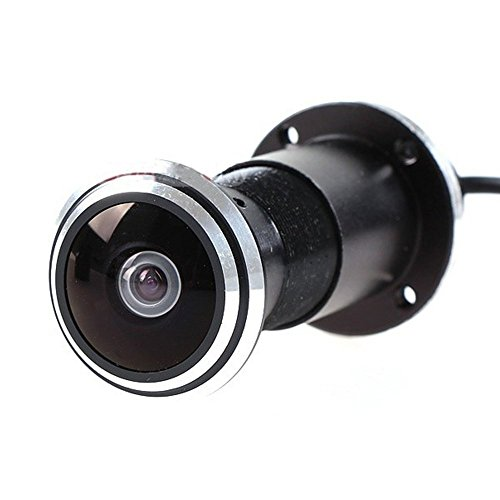 HD 170 Grados 1.78mm Ojo de Pez Gran Angular Ojo de Gato Vigilancia Agujero de la Puerta Cámara Bullet 800TVL Mirilla Video Seguridad CMOS Cámara CCTV