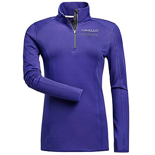 Cavallo Lotta Womens Shirt 18 Reg Royal Blue