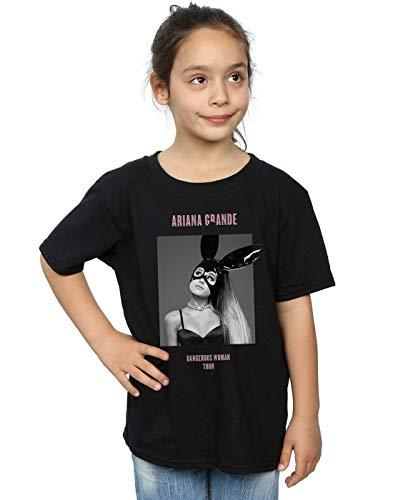 Ariana Grande niñas Dangerous Woman Camiseta 12-13 years Negro